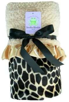 Giraffe Stroller Blanket