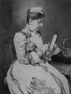 Her Royal Highness The Grand Duchess of Baden (1838-1923) née Her Royal Highness Princess Louise of Prussia