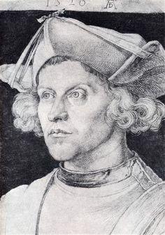 Portrait Of An Unknown Man - Albrecht Durer 1520