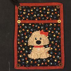 Puppy pocket potholder