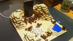 """El iPhone, monolito negro de """"2001, una LEGOdisea del espacio"""""""