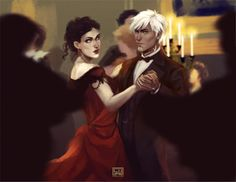 Hawke and Fenris the Winter Palace like... I would have LOVED THIS