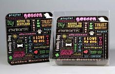 Golden Retriever Coasters