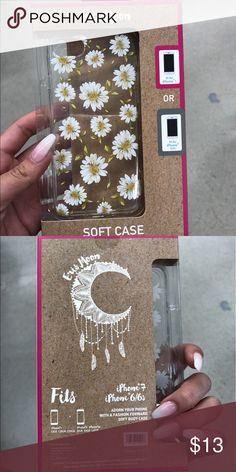 Elvis Moon flower phone case Case fit for iPhone 6/6s/7 Elvis Moon Accessories Phone Cases