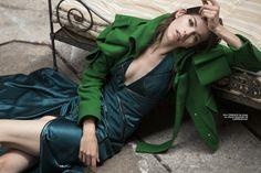 Alexandra Hochguertel By Luc Braquet For Elle Vietnam September 2014 - Dress