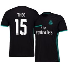 Real Madrid Jersey 17-18 theo hernandez's Away Shirt