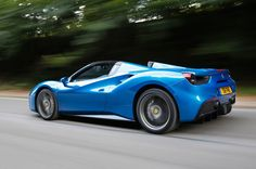 2016 Ferrari 488 Spider UK review