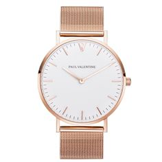 Paul Valentine | Marina Rose Gold Mesh