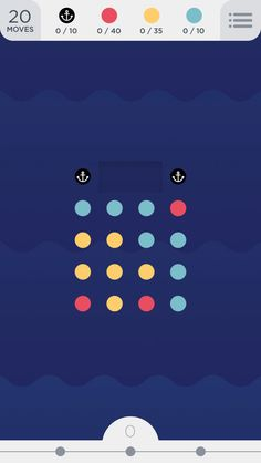 Two Dots, The Sequel To Betaworks' Dots, Is A Beautiful Monster – TechCrunch Grid Game, Game Gui, Two Dots Game, Game Design, Web Design, Bus Games, Ui Buttons, Color Puzzle, Fairy Tales For Kids