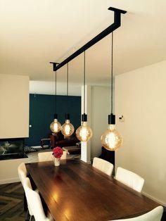 kronleuchter kronleuchter in 2019 Kitchen Ceiling Lights, Kitchen Lamps, Kitchen Lighting, Home Lighting, Lighting Design, Retro Kitchen Tables, Deco Luminaire, House Lamp, Cool Lamps