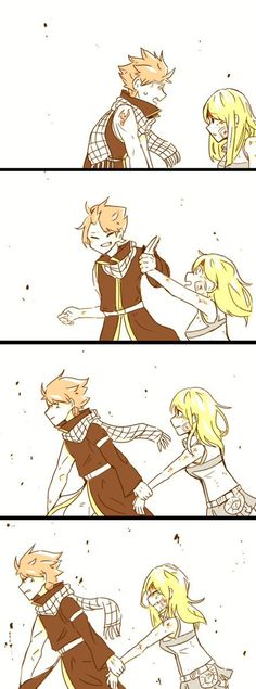 Discovered by Naty_nalu. Find images and videos about fairy tail, nalu and lucy heartfilia on We Heart It - the app to get lost in what you love. Fairy Tail Funny, Fairy Tail Natsu And Lucy, Fairy Tail Love, Fairy Tail Art, Fairy Tail Guild, Fairy Tail Ships, Nalu, Fairy Tail Family, Fairy Tail Couples