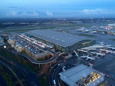 London Heathrow Airport Terminal 5A - Rogers Stirk Harbour + Partners (2008)