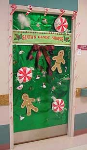 Christmas Decorated Door For Medical Office Dr FEEL GOOD Cool - Christmas door decorating ideas for medical office
