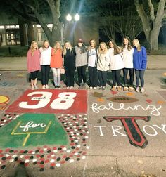 Alpha Gamma Delta sisters show how they are Falling for Troy at Homecoming 2017