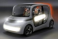future, EDAG, car, concept, vehicle, futuristic, Light Car Sharing, Geneva Motor Show 2012, taxi, eco, green car, auto, automobile, future transportation