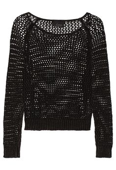 Markus Lupfer Stripe Lara Lip Sequin-embellished Cotton Sweater ...