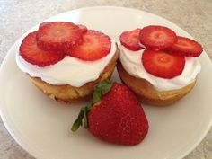 strawberry shortcake using box cake mix