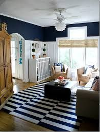 Living Room Gold Interior Design Inspirational Navy White Living Room Reveal and Gold – Makeitmobile Navy And White Living Room, Blue Living Room Decor, Living Room Paint, Living Room Designs, White Bedroom Design, Living Room Remodel, White Decor, Batten, Teal Walls
