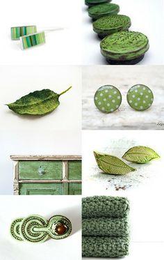 Eko green by CozyWood on Etsy--Pinned with TreasuryPin.com