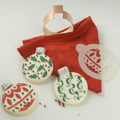 Ornament Cookie Decorating Ideas