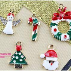 Christmas Pendant Christmas Tree Ornament Decoration for Kids Gift 5Pcs Set.