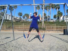 Fun on the swings – Nutritious Movement