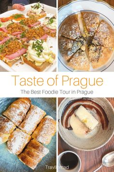 czech recipes If you love discovering traditional locals foods and want to dive deeper into Czech cuisine than what you might find on your own, taking a Prague food tour is the perfect w Czech Desserts, Prague Food, A Food, Food And Drink, Czech Recipes, Best Places To Eat, Unique Recipes, International Recipes, Foodie Travel