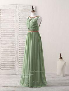 Grecian Bridesmaid Dress, Green Bridesmaid Dresses, Cheap Prom Dresses, Ball Dresses, Ball Gowns, Summer Dresses, Grecian Dress, Beautiful Prom Dresses, Pretty Dresses