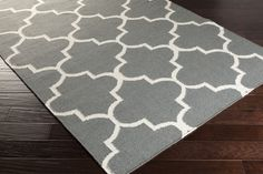 Artistic Weavers York Charcoal Geometric Mallory Area Rug | AllModern, 9x12, $800