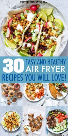 Easy Healthy Air Fryer Recipes (Weight Watchers, Under 425 Calories) - Looking for Healthy Air Fryer Recipes that are tasty, quick & easy to make? Each of the air fryer r - Air Fryer Recipes Wings, Air Fryer Recipes Appetizers, Air Fryer Recipes Vegetables, Air Fryer Recipes Snacks, Air Fryer Recipes Vegetarian, Air Fryer Recipes Low Carb, Air Fryer Recipes Breakfast, Air Frier Recipes, Air Fryer Dinner Recipes