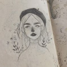 Art And Illustration, Illustrations, Kunst Inspo, Art Inspo, Art Drawings Sketches, Cute Drawings, Pretty Art, Cute Art, Canson