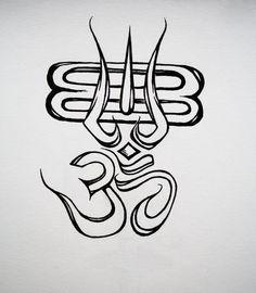 Aum and Shiva Om Namah Shivaya, Shiva Photos, Shiva Shakti, Lord, Lord Siva, Om Tattoo, Art, Shiva Tattoo Design, Lord Shiva Sketch