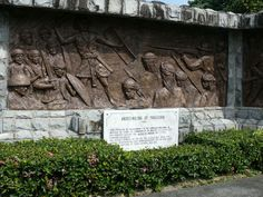 Corregidor- Mural at the Filipino Heroes Memorial