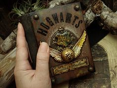 Quidditch Handbook (and other gorgeous handmade journals)