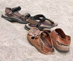 How to Remove Foot Marks from Sandals