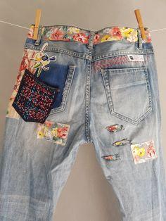 Levis vintage 501 s Levis 501 XX Boyfriend Jeans Denim Vintage, Jean Vintage, Moda Vintage, Jeans Levi's, Patched Jeans, Jeans Button, Skinny Jeans, Look Fashion, Diy Fashion