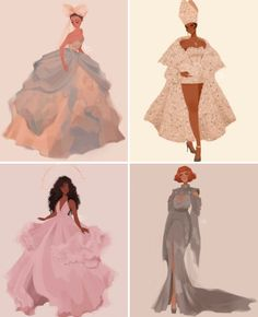 MET GALA Rihanna, SZA, Zendaya and more in fashion illustrations for the Heavenly Bodies Fashion Design Drawings, Fashion Sketches, Fashion Illustrations, Desenho Audrey Hepburn, Black Girl Art, Art Girl, Girl Cartoon, Cartoon Art, Japon Illustration