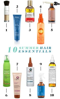 Our 10 Summer Hair Essentials