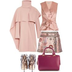 A fashion look from October 2014 featuring sleeveless blouse, neck ties and wrap skirts. Browse and shop related looks. Sleeveless Blouse, Fashion Inspiration, Android, Fashion Looks, App, Skirts, Polyvore, Shopping, Apps