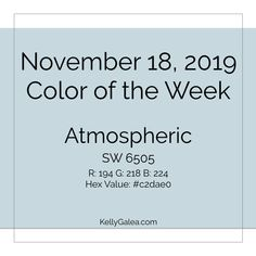 Forecast for the Week of November 18, 2019 - Through the Kaleidoscope with Kelly Galea