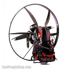 $8450.00 SCOUT Carbon Fiber Backpack Aircraft www.coolpeopleshop.com/products/cool-people-only/scout-carbon-fiber-backpack-aircraft/  The Scout Carbon Fiber Paramotor is one of the most innovative designs to enter the powered paragliding niche. A must have for adrenaline junkie.  #backpack #carbon #aircraft #flying #paragliding #coolpeopleshop