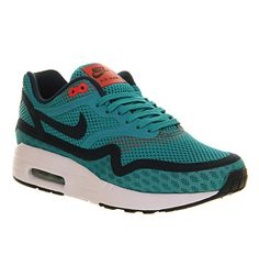 2b120a8179 Nike Air Max 1 Breeze Green Night Shade - Hers trainers Nike Air Max For  Women