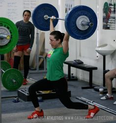 10 Things New WOMEN Weightlifters should know by Aimee Anaya Everett - Olympic Weightlifting - Catalyst Athletics Articles