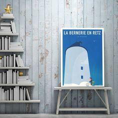Affiche La Bernerie en Retz #LaBernerie #Simple Simple, Poster, Event Posters, Billboard