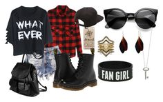 """""""Going on the Ellen show with your band"""" by hey-its-cake ❤ liked on Polyvore featuring Casetify, Dr. Martens, PARENTESI, Roberto Coin, Vans, BCBGeneration, band, ellen and 5secondsofsummer"""