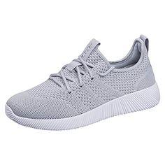 9a4bedd0b3693 QIMAOO Basket Sneakers Confortable pour Femme et Homme Outdoor Chaussures  de Sports Respirant pour Jogging Fitness Gym Course Randonnée