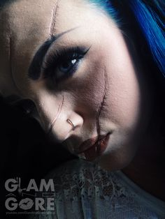 Special effects: Scars using rigid collodion  For more makeup looks and tutorials: www.instagram.com/Mykie_      www.youtube.com/GlamAndGoreMakeup
