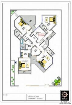 House Layout Plans, Family House Plans, New House Plans, Dream House Plans, Modern House Plans, Small House Plans, House Layouts, House Floor Plans, House Floor Design
