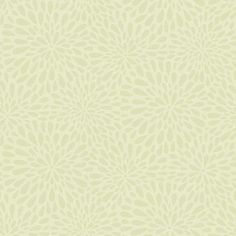 2535-20662 Green Modern Floral - Calendula - Simple Space 2 Wallpaper By Beacon House