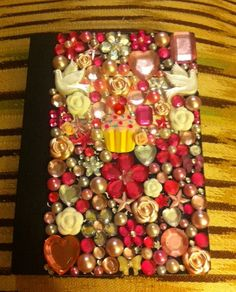 Super Kawaii Cabochon Covered Mini Mead Notebook. $6,00, via Etsy.